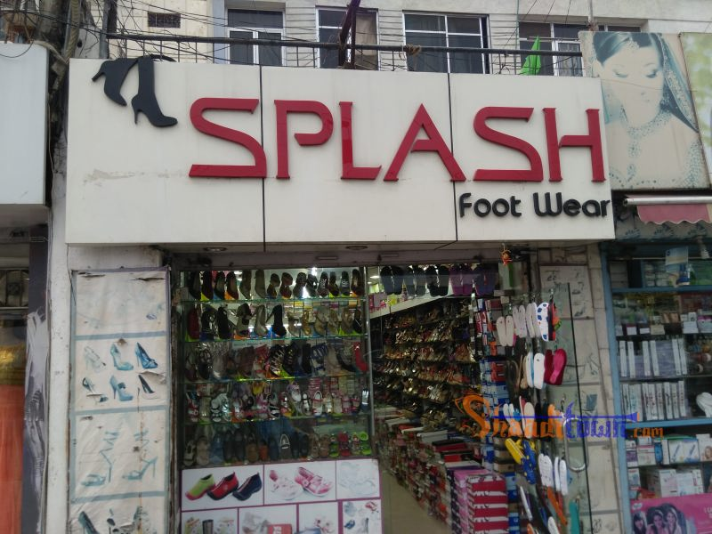 Splash footwear
